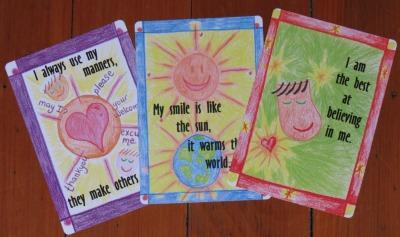 3 nurture cards