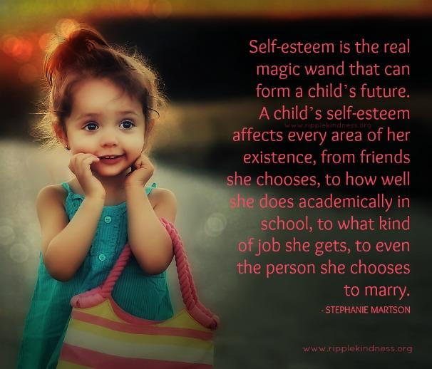 Self esteem is a magic wand