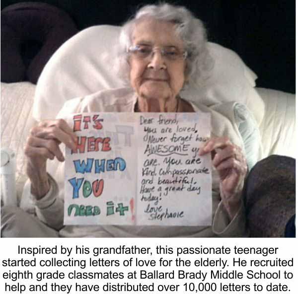 Love of the Elderly