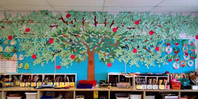 Kindness tree at WJ Watson School