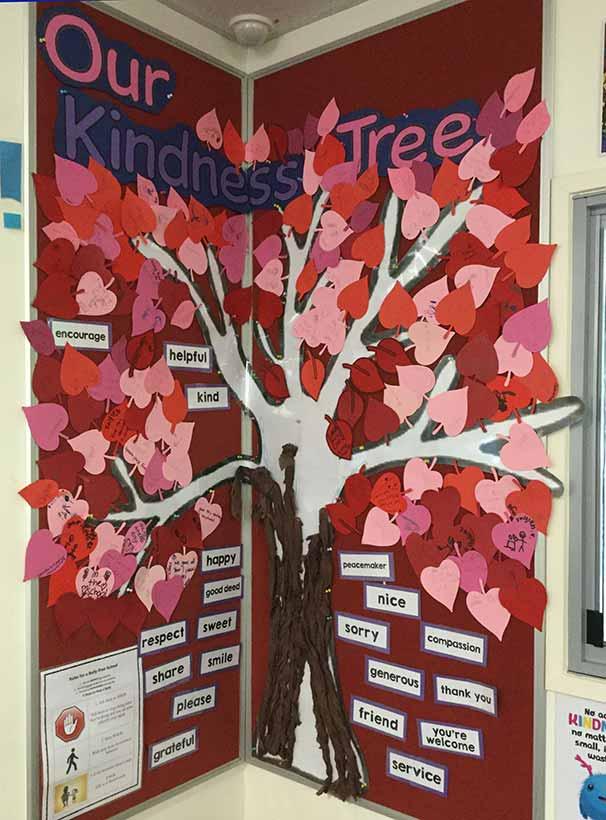 Kindness tree at Hambledon State School