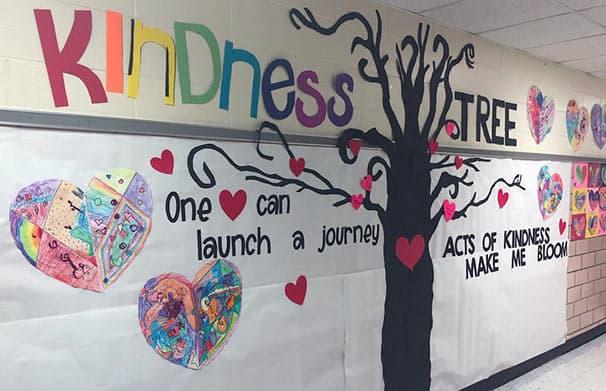 JFK Elementary Kindness Tree