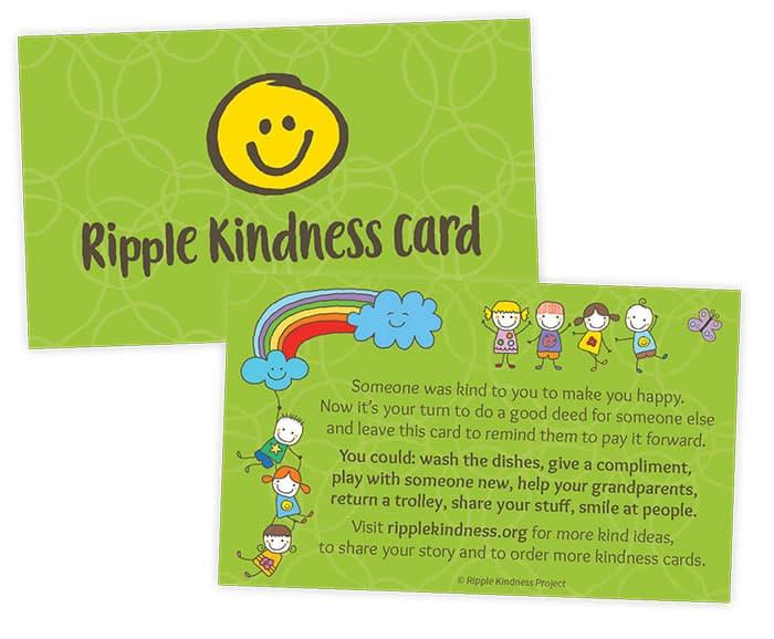 Kids Kindness Cards