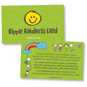Ripple Kindness Cards for Children