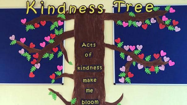 Aughacasla National School Kindness Tree