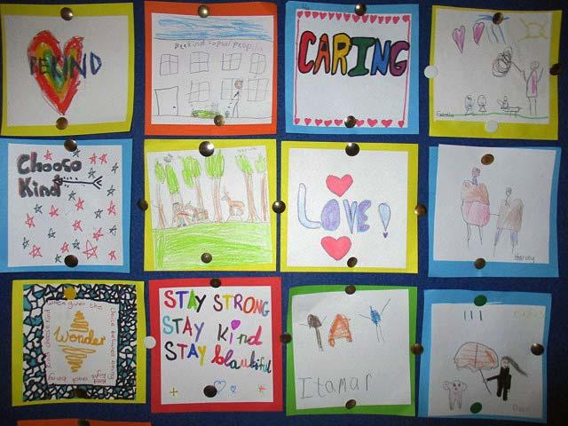 Kindness Bulletin Board Stratford National School Ireland