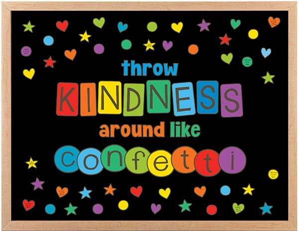 Throw Kindness Around like Confetti Bulletin Board Kit
