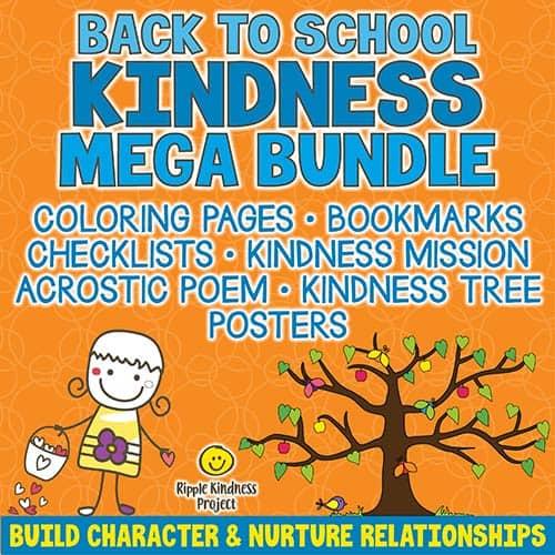 Back To School Kindness Mega Bundle Cover