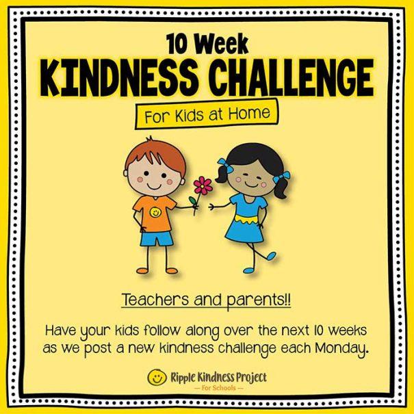 10 Week Kindness Challenge For Kids