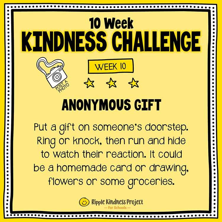Facebook Kindness Challenge For Kids Week 10
