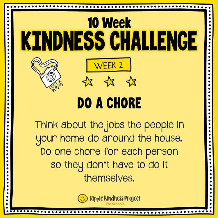 Facebook Kindness Challenge For Kids Week 2
