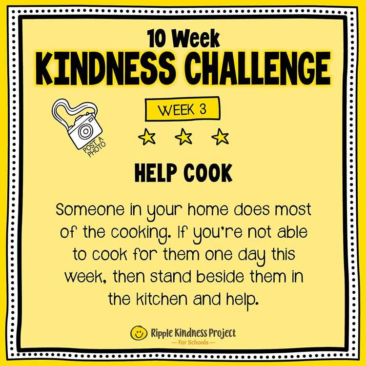 Facebook Kindness Challenge For Kids Week 3