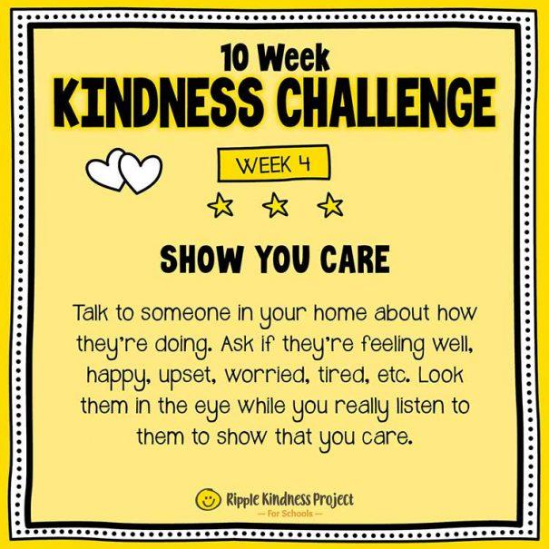 10 Week Kindness Challenge For Kids – Week 4
