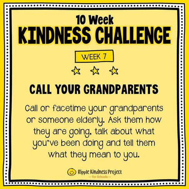 10 Week Kindness Challenge For Kids – Week 7