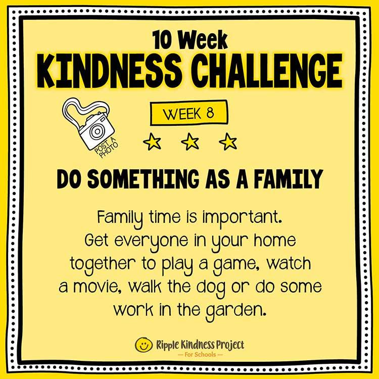 Facebook Kindness Challenge For Kids Week 8