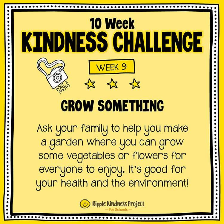 Facebook Kindness Challenge For Kids Week 9