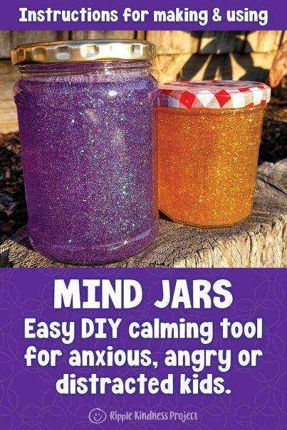 Make A Mind Jar: A Mindfulness Tool To Reduce Anxiety & Stress