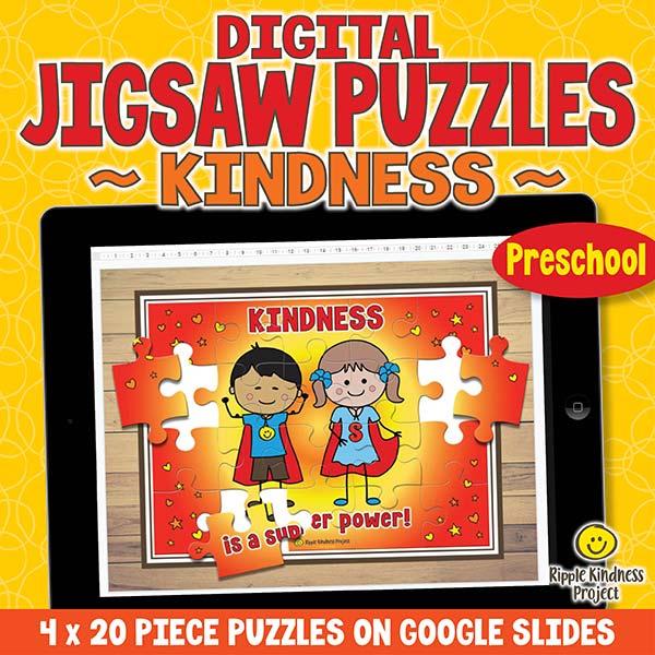 Kindness Jigsaw Puzzle Preschool Cover