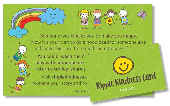 Children's Ripple Kindness Cards